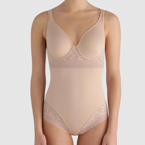 Body armatures gainant Playtex EXPERT IN SILHOUETTE FEMININE - Lingerie sculptante maintien leger