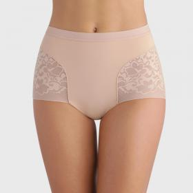 Culotte taille haute Playtex EXPERT IN SILHOUETTE FEMININE beige - Lingerie playtex grande taille
