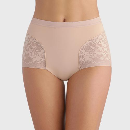 Culotte taille haute Playtex EXPERT IN SILHOUETTE FEMININE beige