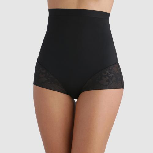 Culotte serre taille Playtex EXPERT IN SILHOUETTE FEMININE noire - Lingerie playtex grande taille