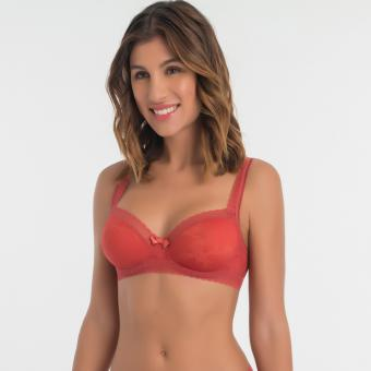 Soutien-gorge balconnet Playtex INVISIBLE ELEGANCE rouge heritage