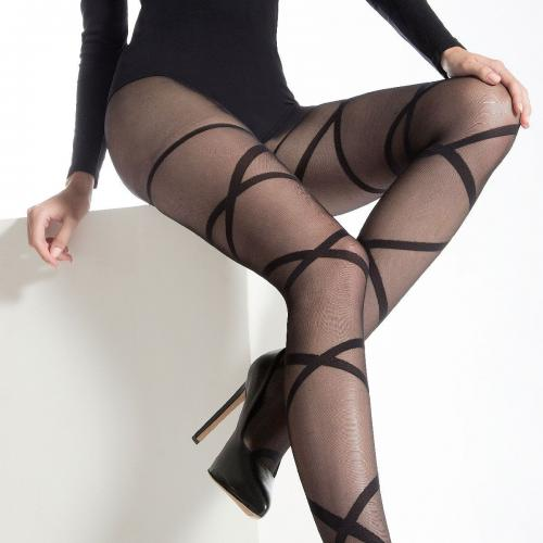 Collant Pomm'Poire DALINA noir - Collants et bas