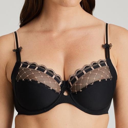 soutien-gorge emboitant armatures Prima Donna A LA FOLIE Celebration Black