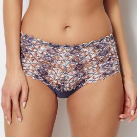 Culotte taille haute Sans Complexe ARUM MOSAIC ethnique Sans Complexe - Culotte/Slip - Lingerie sans complexe grande taille