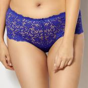 Culotte taille medium Sans Complexe CLEMENCE bleu royal Sans Complexe - Culotte/Slip - Lingerie sans complexe grande taille