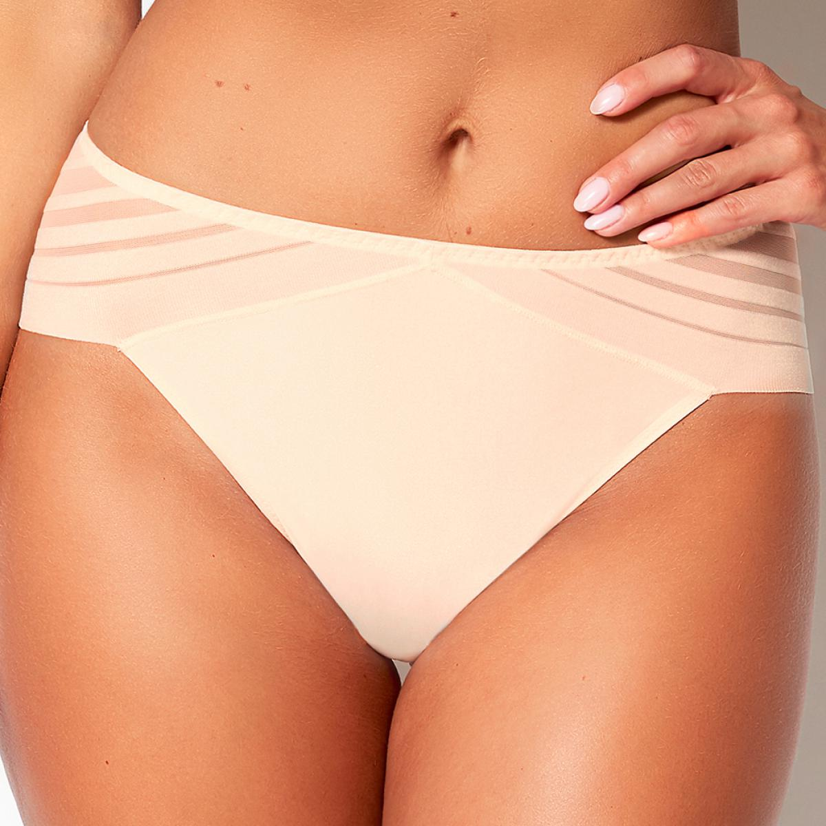 Tanga Sans Complexe LIFT UP champagne rose