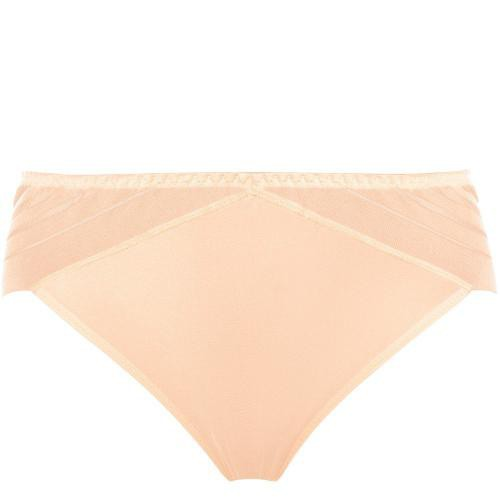 Tanga Sans Complexe LIFT UP champagne rose - Lingerie sans complexe grande taille
