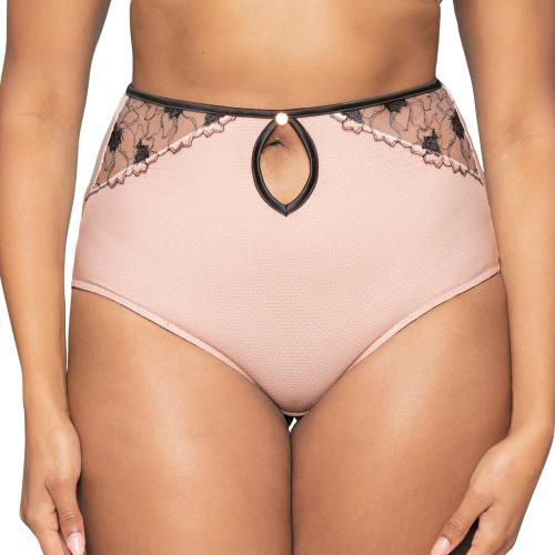Culotte taille haute Scantilly HEART THROB rose