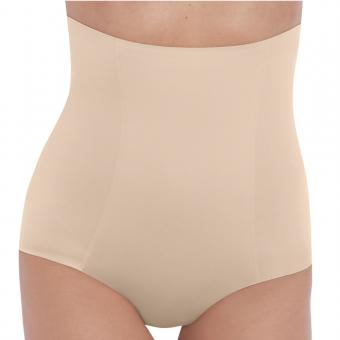 Culotte gainante taille haute Wacoal BEYOND NAKED COTTON sand