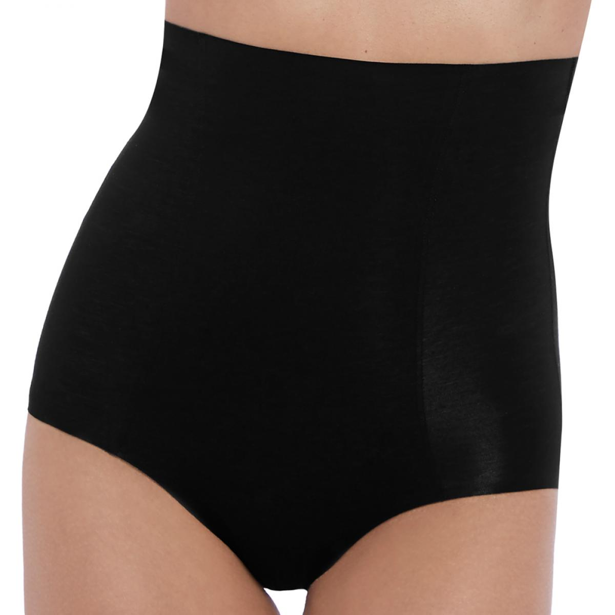 Culotte gainante taille haute Wacoal BEYOND NAKED COTTON black